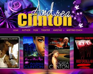 Andrea Clinton<br />Novelist – Screenwriter